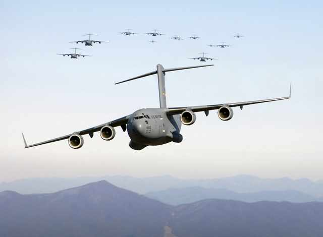 Top 5 Countries with the Most Military Transport Aircraft