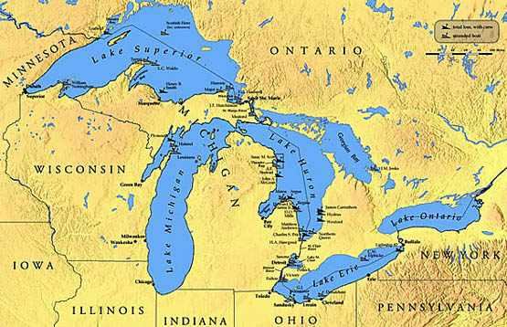 Largest Great Lakes